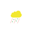 Bad weather Icon vector image
