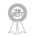 best icon design vector image vector image