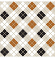 black and gold argyle harlequin seamless pattern vector image vector image