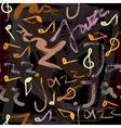 jazz pattern vector image
