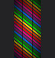 modern rainbow colored cellphone background vector image vector image