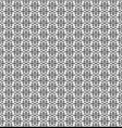 tracery black pattern vector image vector image