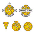 pizza delivery hot pizza delivery food delivery vector image