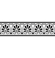 ancient greek ornament vector image vector image