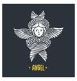 angel god vector image vector image
