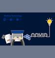 covid19-19 coronavirus success idea concept vector image vector image