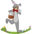 Easterbunny vector image vector image
