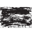 grunge background brush strokes of black paint vector image vector image