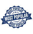 most popular stamp sign seal vector image vector image