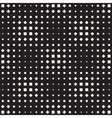 Seamless Black And White Square Halftone vector image