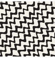Seamless Hand Drawn Wavy Diagonal Stripes vector image vector image