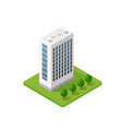 smart building home vector image