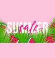 summer sale trendy banner modern colorful vector image vector image