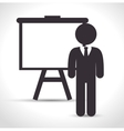 training business design vector image vector image