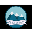 Trip to the mountains vector image vector image