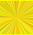 abstract sun burst background from radial stripes vector image vector image