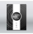 cover flyer brochure report template