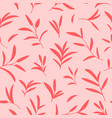 decorative seamless botanical pattern in vector image vector image
