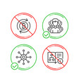 group refresh bitcoin and multichannel icons set vector image vector image