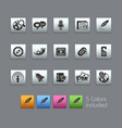 social media - satinbox series vector image vector image