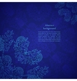 abstract flower background Your presentation vector image vector image
