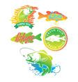 bass fish vector image vector image