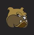 bulldogs symbol vector image vector image
