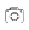 camera icon design vector image