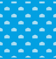 palisade pattern seamless blue vector image vector image