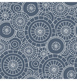 rain in kyoto - seamless pattern vector image vector image