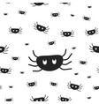 spiders wrapping paper seamless pattern for vector image vector image