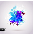 abstract hand drawn watercolor background vector image vector image
