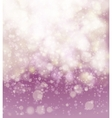 Abstract pink soft bokeh background vector image vector image