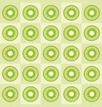 kiwi slices seamless pattern vector image
