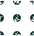 pattern sprout vector image vector image