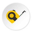 roulette working tool icon circle vector image vector image