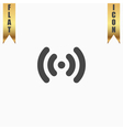 Wi-Fi network icon vector image vector image