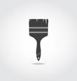 Brush Black Icon vector image
