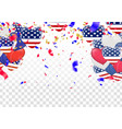 4 of july usa independence day abstract holiday vector image vector image