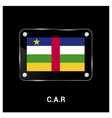 car flag design vector image vector image