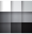 Gray squares abstract background vector image vector image