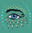 halloween all seeng eye vector image vector image