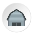 High garage icon flat style vector image vector image