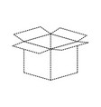 opened cardbox icon image vector image