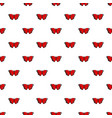 sangaris butterfly pattern seamless vector image vector image