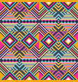 seamless pattern in boho style vector image