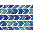 Seamless Watercolor Geometric Pattern vector image vector image