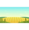 Natural landscape Cartoon vector image