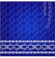 lace design background vector image