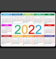 calendar 2022 yearly week starts on monday